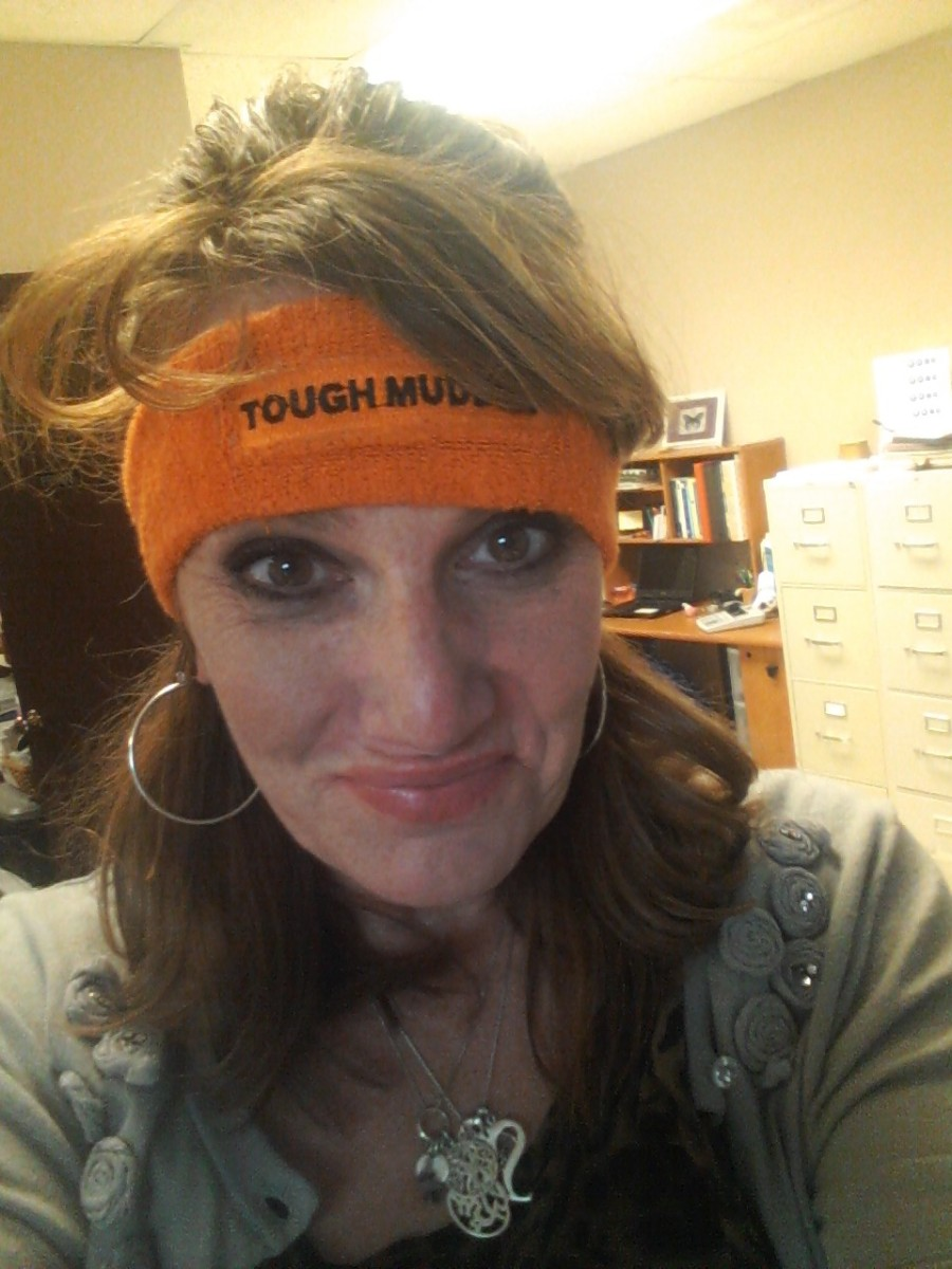 The orange headband